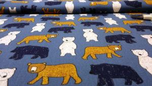 Tela de ositos para coser cosas de bebes