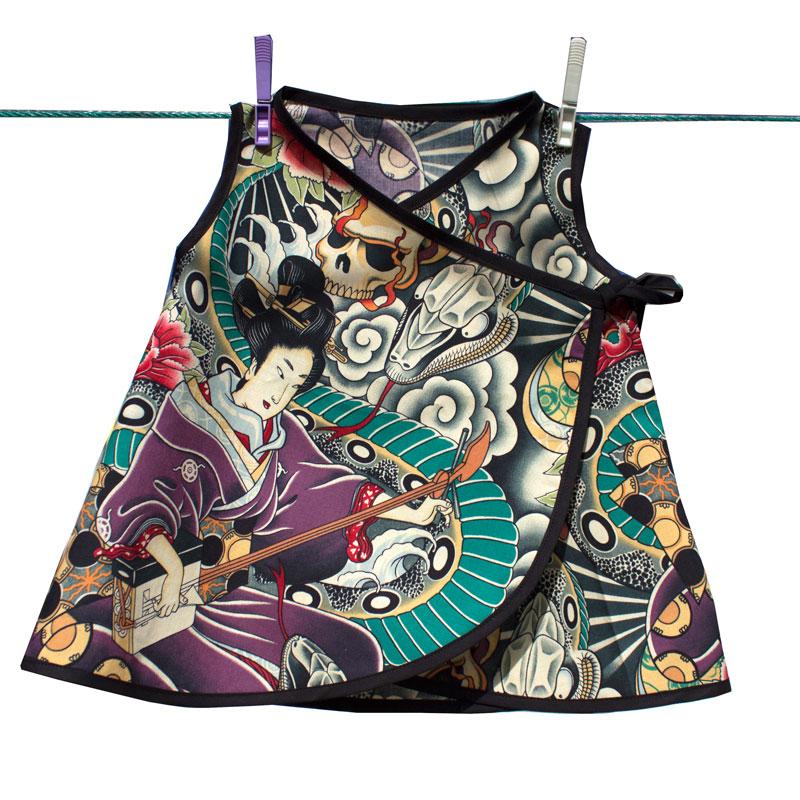 Vestido kimono regalo bebé