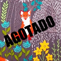 Tela 797 nice foxes into wood