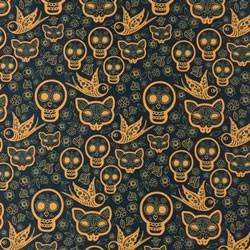 Tela 764 naves azul