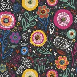 Tela 808 folkloric flowers