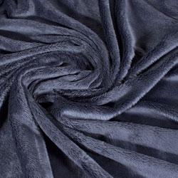 Pelo azul oscuro