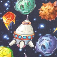 Tela 905 meteoritos