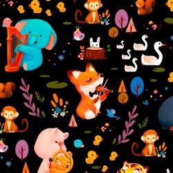 Tela 899 musicos forest jam