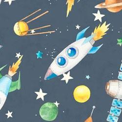 Tela 835 cohetes gris