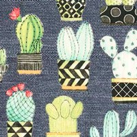 Tela 597 cactus