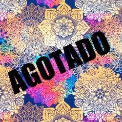 Tela 951 flores gris
