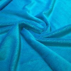 Minkee azul turquesa