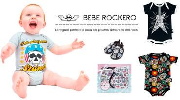 Regalos para bebes rockeros